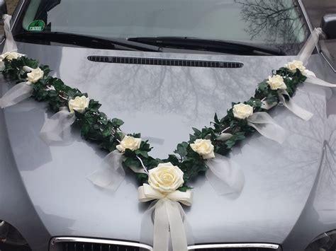 Dekoration F R Hochzeit Kaufen by Hochzeit Dekoration F 252 R Brautauto Autoschmuck Autogirlande