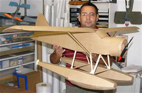 How To Make A Model Airplane Out Of Paper - dehavilland beaver aircraft