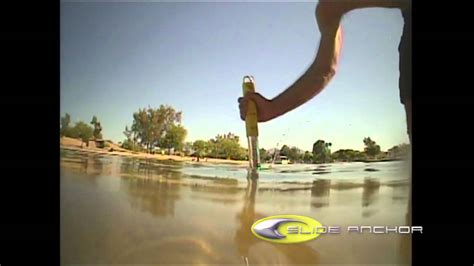 sand stakes for boats slide anchor shore spike youtube