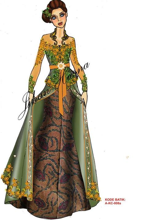 sketsa desain dress batik kebaya nyonya related keywords suggestions kebaya