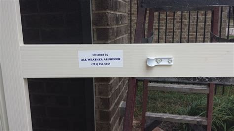 All Weather Aluminum, Inc.   Conroe Woodlands Kingwood