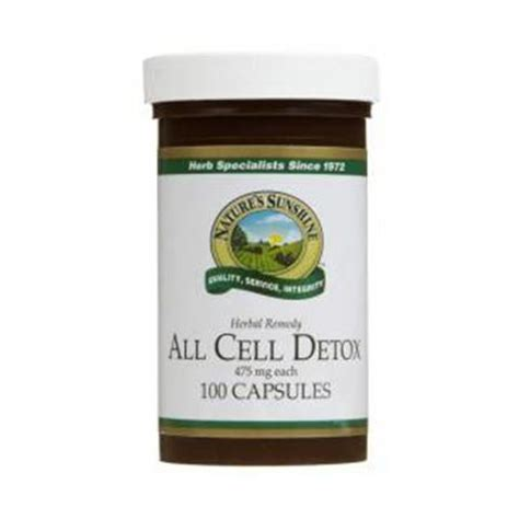 Accelerated Cellular Detox Powder by Enviro Detox 100 Capsules The Green House