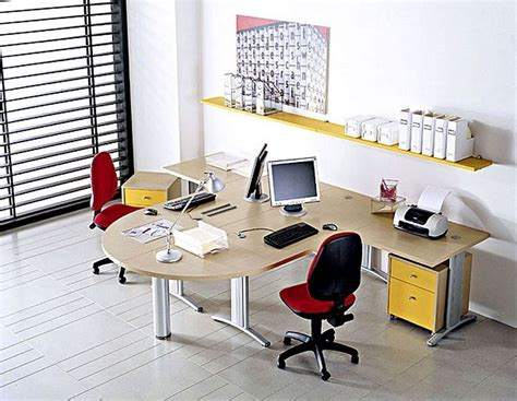 compact office furniture set for minimalist office