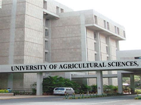 Mba Agribusiness Government by Of Agricultural Sciences Bangalore