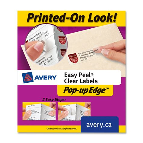 avery 5660 template word avery easy peel address label ld products
