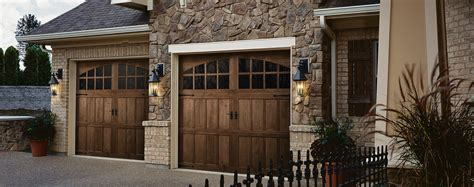 Wood Looking Garage Doors Beautiful Wood Garage Doors In Columbus Deluxe Door Sysstems