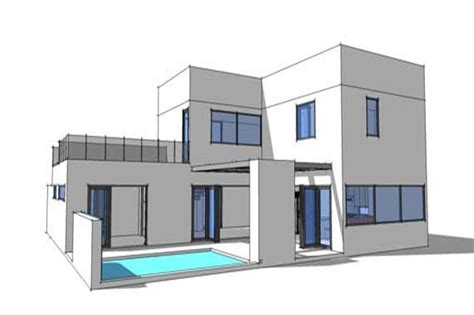 theplancollection com modern house plans 3 bedrm 2459 sq ft concrete block icf design house plan