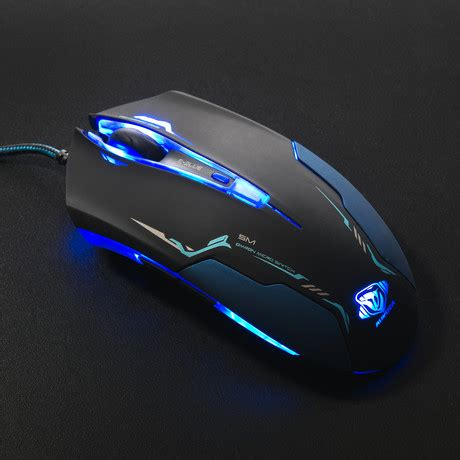 Mouse Gaming E Blue Auroza Type Im Pro Ems 602 e blue high tech accessories for gamers touch of modern