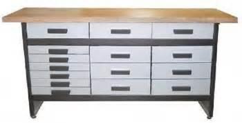 werkbank mit schubladen werkbank wb 15 werkstatt hobbykeller 15 schubladen mit
