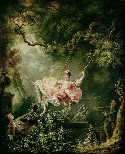 the swing jean honoré fragonard the swing poster by jean honore fragonard