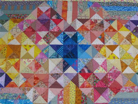 Patchwork Design - significant seams this week significant seams