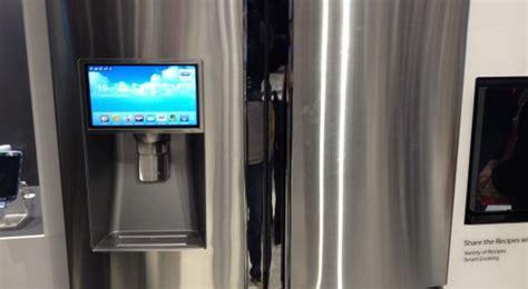 Kulkas Samsung T9000 samsung perkenalkan kulkas dengan os android okezone techno