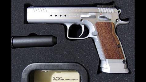 New N Limited 9 eaa tanfoglio witness elite limited 9mm 600310 pistol 권총