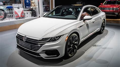 volkswagen arteon r 2020 2019 volkswagen arteon gets r line treatment
