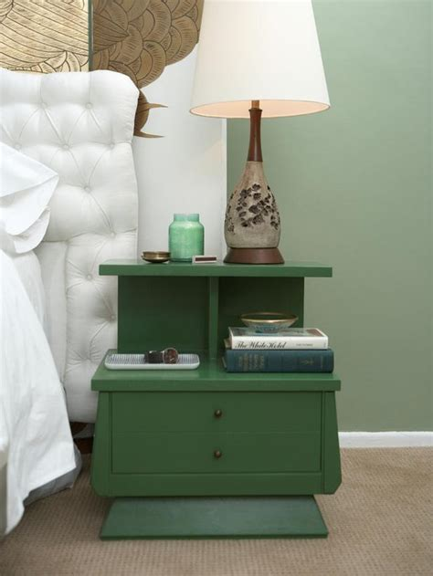 Colorful Bedside Table Ideas For Updating An Bedside Tables Diy Home Decor
