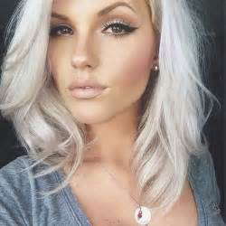 white hair color 35 cool hair color ideas to try in 2016 thefashionspot