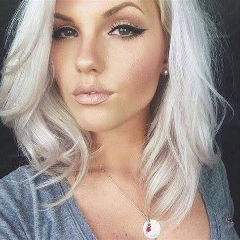 silver blonde hair color pictures 35 cool hair color ideas to try in 2016 thefashionspot