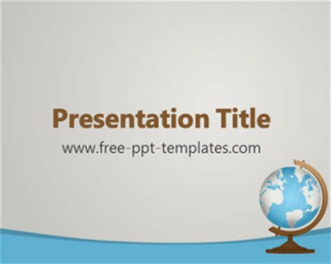 geography powerpoint templates geography ppt template free powerpoint templates
