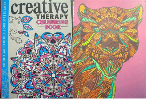 anti stress colouring book whsmith creative therapy colouring in the midst of madness