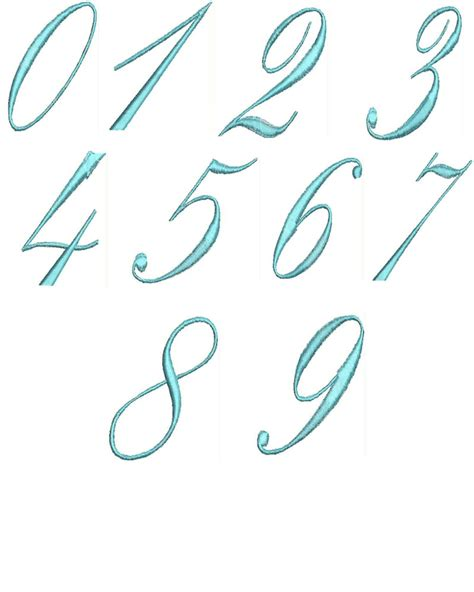 embroidery design number number embroidery designs