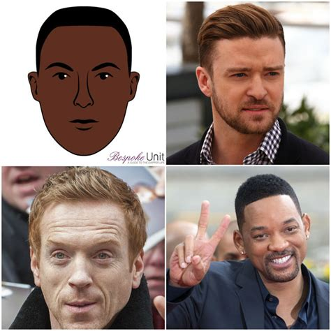 male celebrities with oval face shapes what are men s oval face shapes characteristics the best