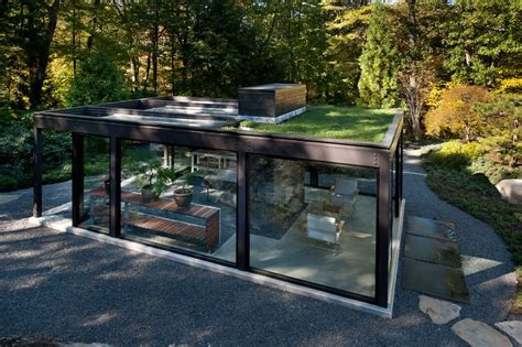 Modern house glass designs shed modern with garden structure potting shed glass ceiling