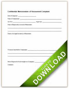 sexual harassment forms