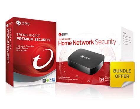 trend micro home network security and premium security