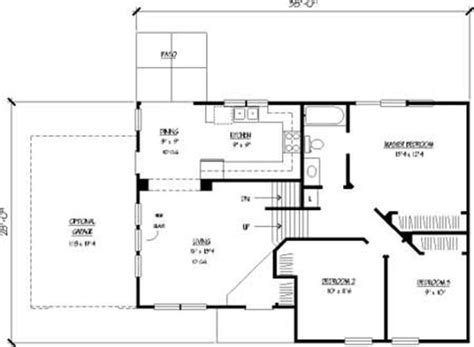 House Plans Kitchen In Front by Split Level House Designs The Plan Collection