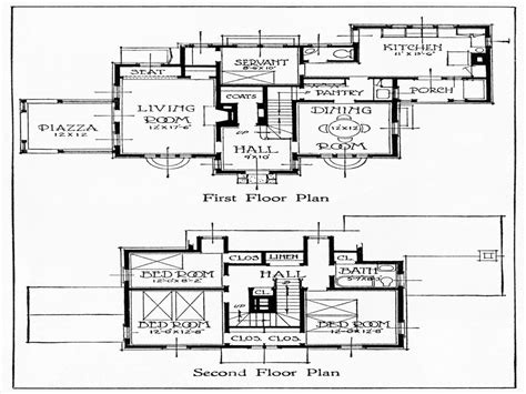 old floor plans old house floor plans vintage farmhouse floor plans