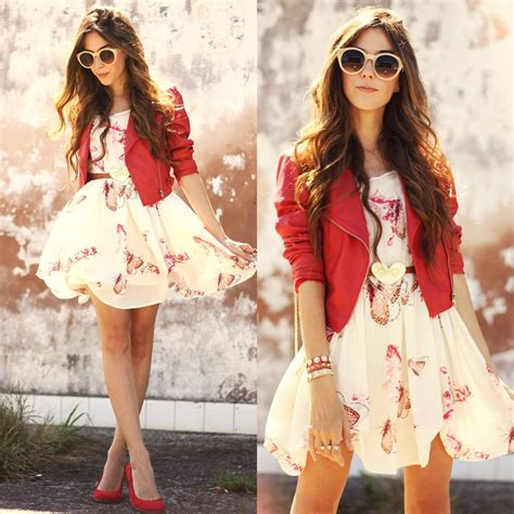what looks good with red princess jujube qual seu look favorito looks com camisa