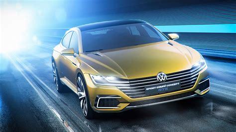 volkswagen sport coupe gte concept  wallpaper hd