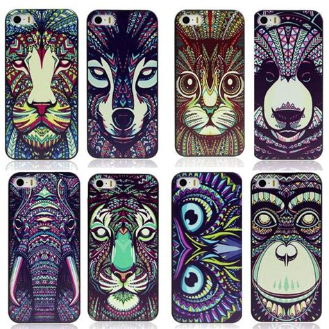 Hardcase Luxo Animal For Samsung S5 aztec 3d printing animal faces protective back plastic cases cover for iphone 6 plus