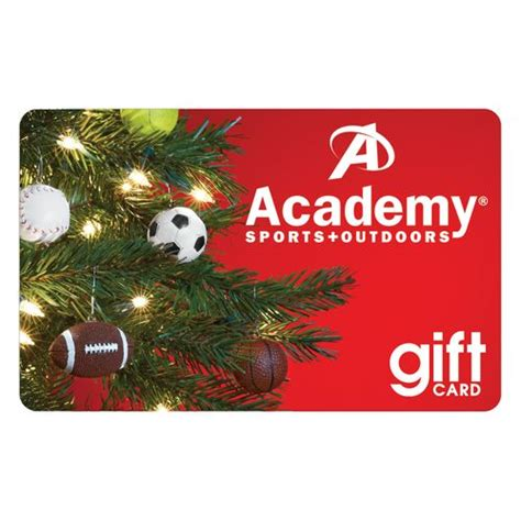 Academy Gift Cards - academy holiday gift card christmas tree design academy
