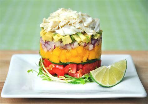 crab and avocado stack the roppongi crab stack salad recipe trendsurvivor