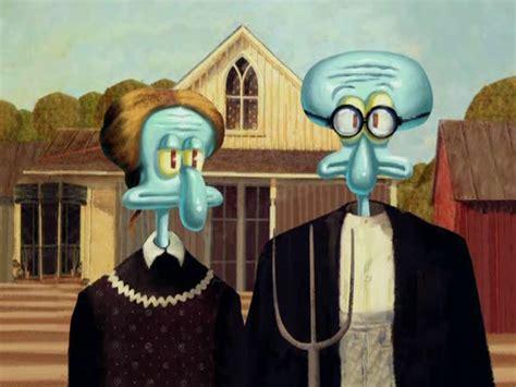 art parody american gothic american gothic parody