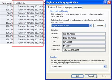 format excel language configuring the appearance of an integrated excel workbook