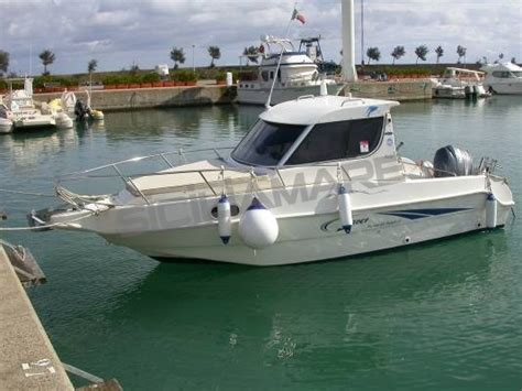 saver 21 cabin fisher saver manta 21 fisher motorboat used sicilia italy