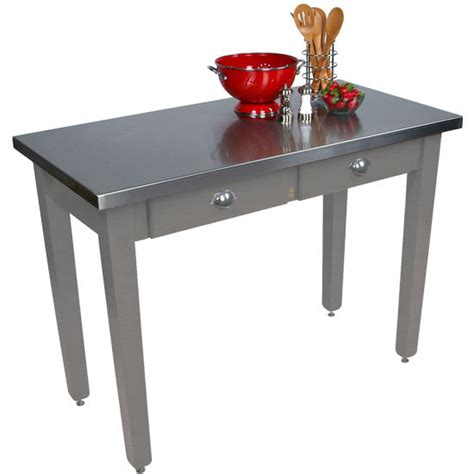 boos kitchen islands kitchen islands boos 36 cucina work table with stainless steel top