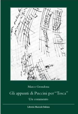 libreria musicale italiana gli appunti di puccini per quot tosca quot ed libreria musicale