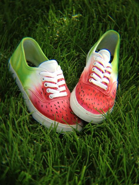 diy watermelon shoes pin by hailee mallett on my style