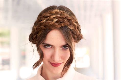 braided hairstyles milkmaid best braided hairstyles for thick hair
