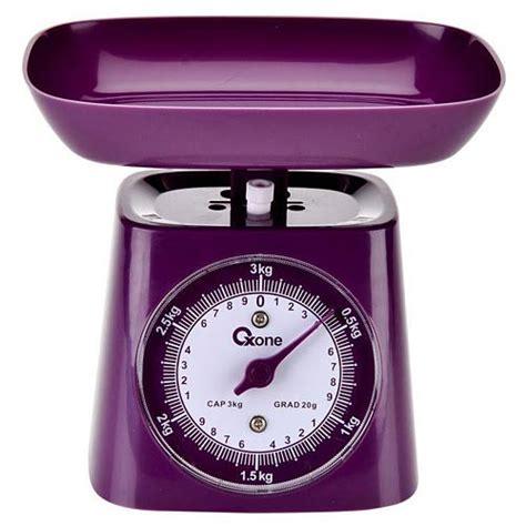 Timbangan Plastik oxone timbangan dapur analog ox 211 purple dinomarket
