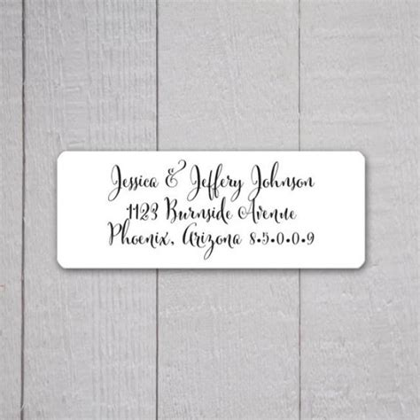 wedding invitation return address labels wedding stickers return address stickers for