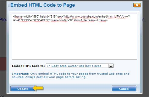 html tutorial embed video adding a footer in html phpsourcecode net