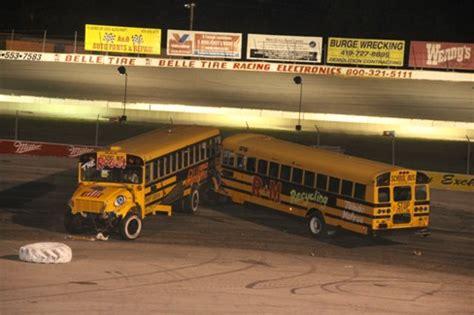 2015 flat rock toledo schedules released flat rock speedway school bus figure 8 races coming up at flat rock toledo