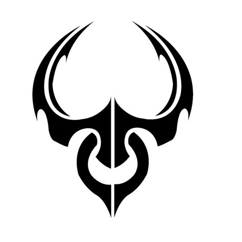 tribal symbol tattoos tribal taurus wallpaper 187 ideas