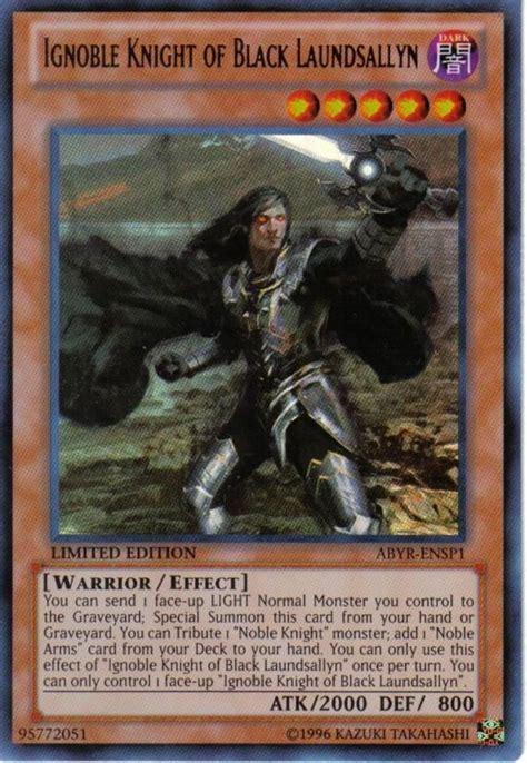 Kartu Yugioh Ignoble Of Black Laundsallyn Platinum Abyr Ensp1 Ignoble Of Black Laundsallyn