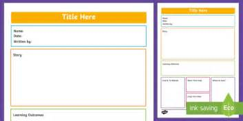 Ece Learning Story Portfolio Template New Zealand Back To Learning Portfolio Template