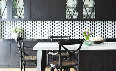 Black And White Kitchen Backsplash by Black And White Backsplash Tile Photos Backsplash